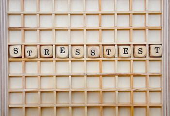 Stresstest Schriftzug