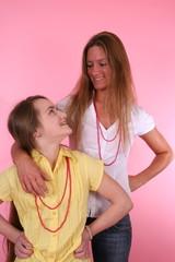 Mutter und Tochter 1