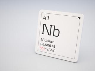 Niobium - element of the periodic table