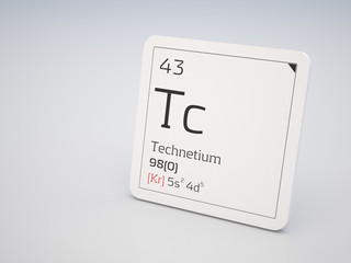 Technetium - element of the periodic table