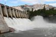 Hydro Electric Dam Spillway