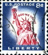 Liberty. US Postage.