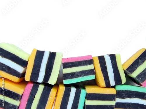 Colorful Licorice Lollies 1