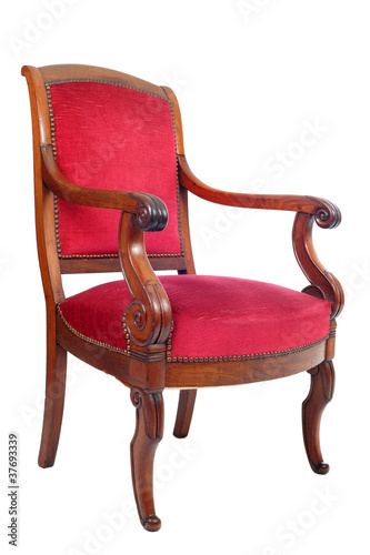 fauteuil ancien photo libre de droits sur la banque d. Black Bedroom Furniture Sets. Home Design Ideas