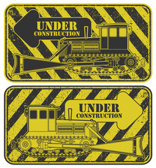 Under construction stamp