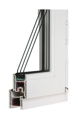 Sample PVC window