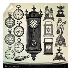 レトロ_時計