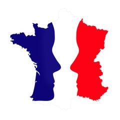 Carte de France, élections présidentielles