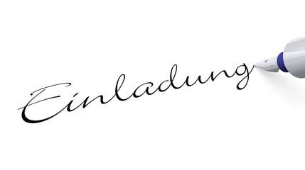 Stift Konzept - Einladung