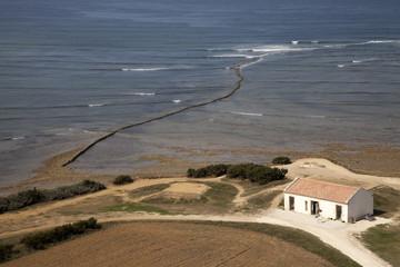 La maison au bord de l'océan