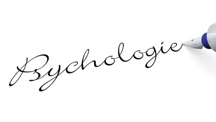 Stift Konzept - Psychologie