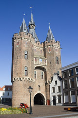 City Gate of Zwolle, Holland