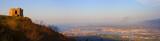 View from the viewpoint of Jaizkibel, Hondarribia, Gipuzkoa poster