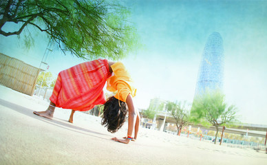 Red Yellow Asana