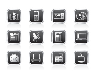 Communication and Business Icons
