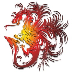 Drago Rosso Simbolo-Red Dragon Symbol-2012