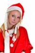 une belle femme de Noël