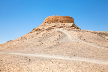 Zoroastrian Tower of Silence, Yazd, Iran.
