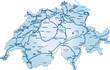 Schweiz_blau_Autobahnen