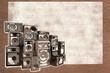 speakers graffiti on brick wall