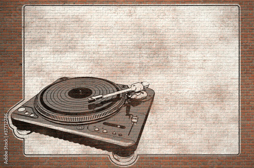 turntable graffiti