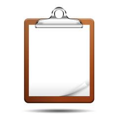 Icono clipboard 3D