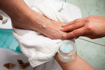 trattamento dei piedi