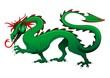 Drago Verde Cina-2012-Green Dragon China-Vector