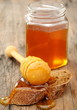 Honey and rye bread.