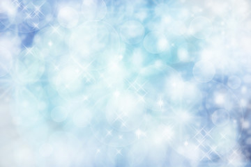 Abstract blue lights background