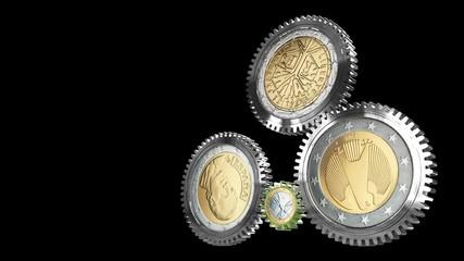 Prinzip EURO (mit Alpha Maske)