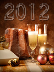 Capodanno 2012, brindisi con Panettone