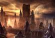 Fantasy Alien City
