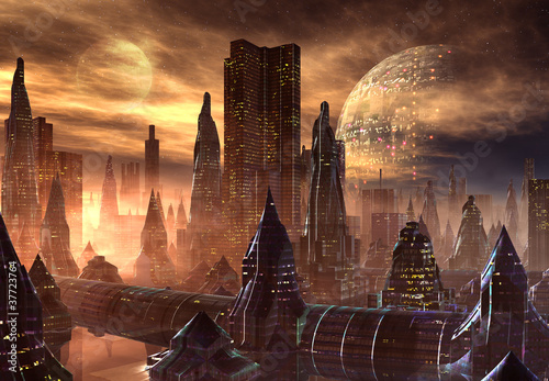 Fantasy Alien City