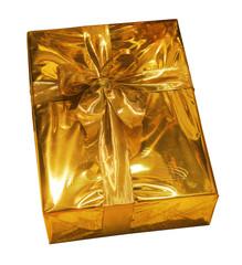 goldiges päckchen