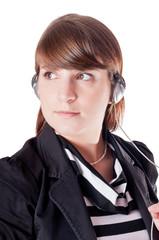 Woman listen music 2