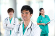 Group of Asian doctors