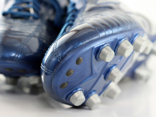 Brand new Shiny Blue Soccer boots / shoes