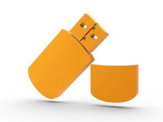 3d Icon USB orang
