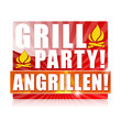Grillparty! Angrillen! Button, Icon