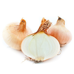 Yellow sliced onion