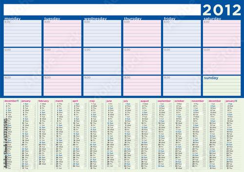 Calendario 2012 H Extremo Descarga Directa Gratis