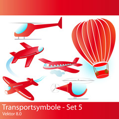 transportsymbole - set 5