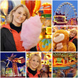 Collage Kirmes