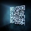 Pixeled QR code illustration