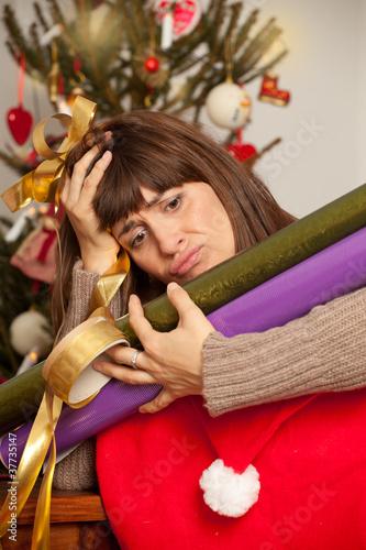 stress weihnachten
