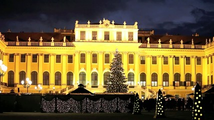 Weihnachtsmarkt Schloß Schönbrunn, Wien