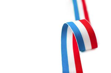 nastro tricolore francese americano