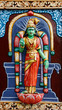 Relief, Minakshi-Tempel, Madurai, Südindien