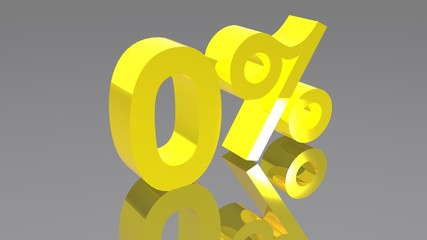 0% - Zero percento - Zero percent